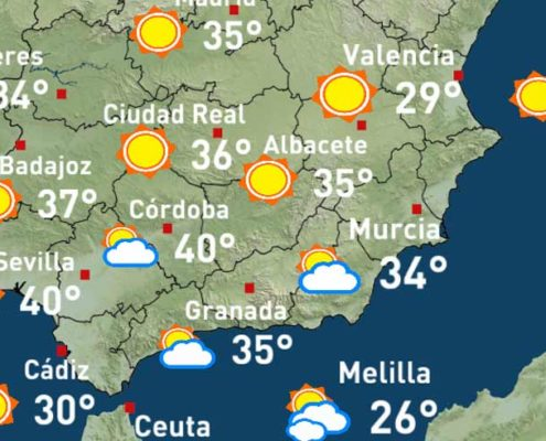 Weather forecast, Costa del Sol – costadelsol.st