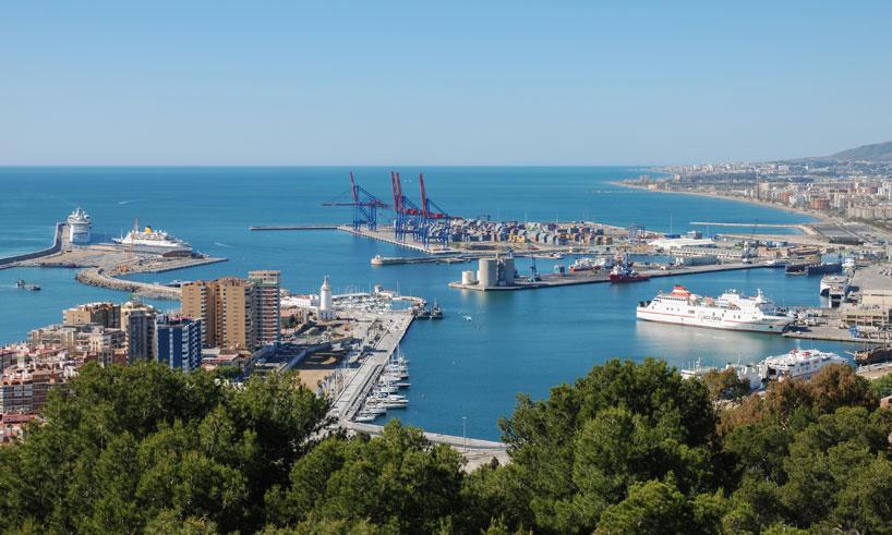 Malaga hamn