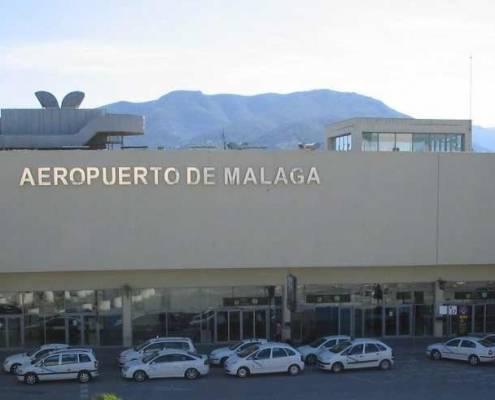 Malaga Flyplats Costa del Sol