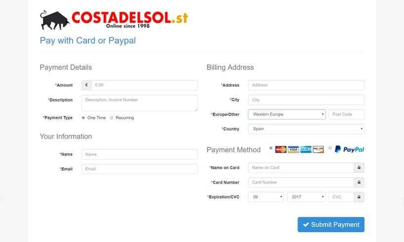 Betalningslösning till din hemsida