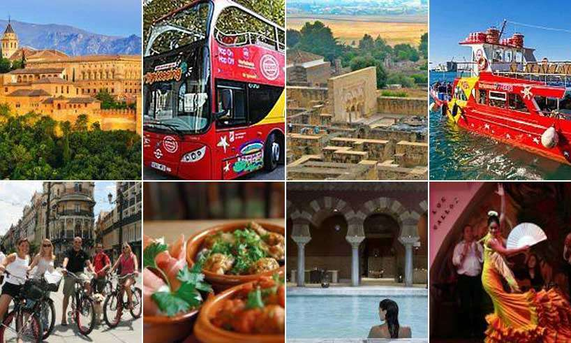 Turist biljetter Malaga, Sevilla, Granada och Cordoba