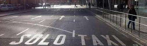 Taxistrejk Malaga Flygplats