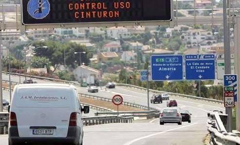 Kameraövervakning för bilbälte