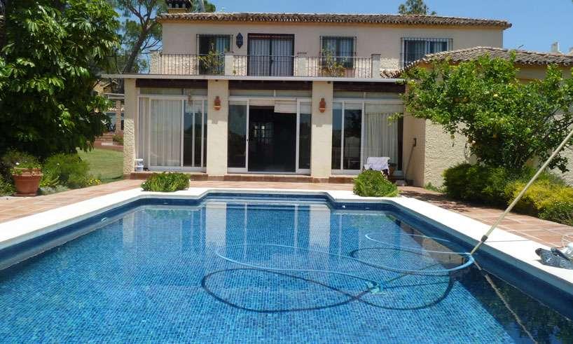 Villa strax innan Marbella