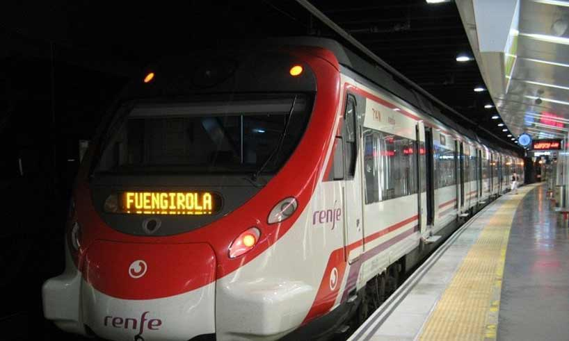 Pendeltåg Malaga-Fuengirola