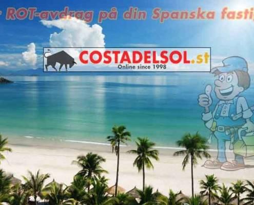 ROT-avdrag för din fastighet på Costa del Sol