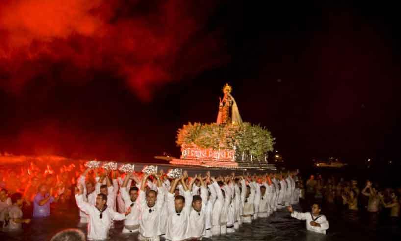 Feria Virgen de La Carmen, Los Boliches